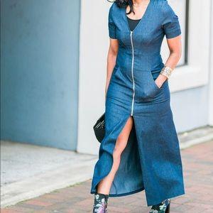 Dresses & Skirts - **SOLD*** Denim dress